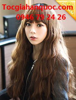 Ảnh số 97: Tóc bộ có da đầu Hàn quốc - Giá: 700.000