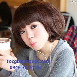Ảnh số 58: Tóc bộ có da đầu Hàn quốc - Giá: 700.000