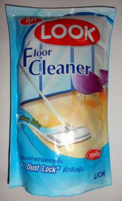 Ảnh số 8: Nước lau sàn nhà LOOK màu xanh - Giá: 30.000