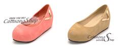 Ảnh số 68: Giày búp bê bánh mì Alibaba chữ V - Giá: 240.000