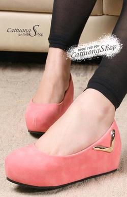 Ảnh số 69: Giày búp bê bánh mì Alibaba chữ V - Giá: 240.000