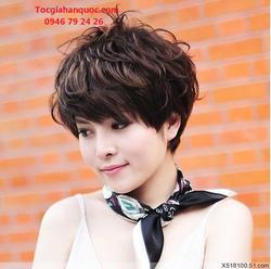 Ảnh số 12: Tóc bộ có da đầu Hàn quốc - Giá: 650.000