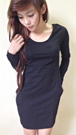 Ảnh số 47: váy áo thun - Giá: 150.000