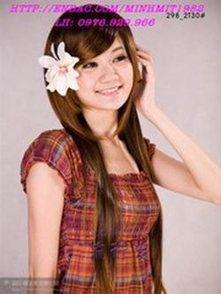 Ảnh số 83: tóc thẳng phồng xinh Hàn quốc - Giá: 700.000