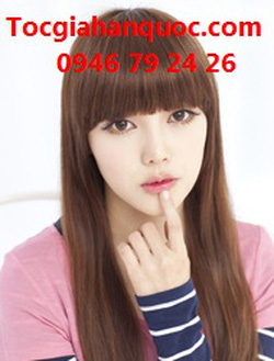 Ảnh số 18: Korea - tóc thẳng mái bằng Tóc có da đầu chịu nhiệt - Giá: 700.000