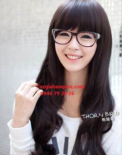 Ảnh số 43: Korea - xoăn nhẹ mái bằng Tóc có da đầu chịu nhiệt - Giá: 750.000
