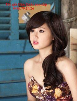 Ảnh số 72: Tóc giả xoăn nhẹ xinh Hàn quốc - Giá: 750.000