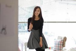 Ảnh số 24: Váy công sở dài tay dáng xòe (MS: RX62) - Giá: 255.000