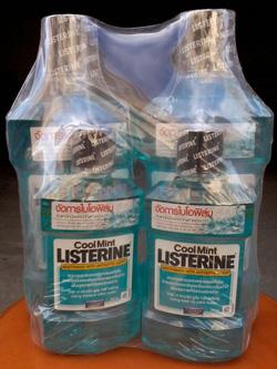 Ảnh số 28: Nước súc miệng Listerine - Giá: 126.000