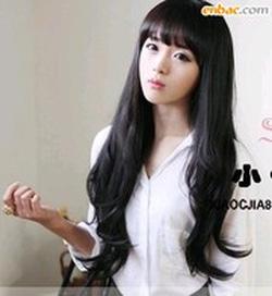 Ảnh số 63: Tóc dành cho Cô Dâu xinh xoăn nhẹ dài  Hàn quốc - Giá: 750.000