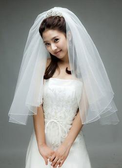 Ảnh số 46: Tóc dành cho Cô Dâu xinh xoăn nhẹ Hàn quốc - Giá: 800.000