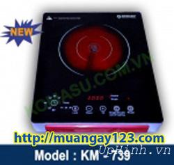 Ảnh số 4: Bếp hồng ngoại cảm ứng Komasu KM-739 - Giá: 1.400.000