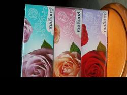 Ảnh số 35: Giấy ăn Thái hoa hồng - Giá: 1.000
