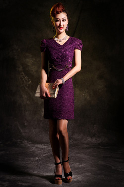 Ảnh số 8: Váy ren LADYROY-5014 - Giá: 390.000
