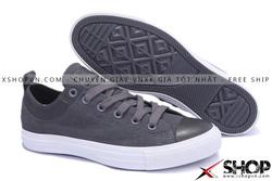 Ảnh số 38: Giày Converse Kaki Viền Da Ghi thấp cổ - Giá: 499.000