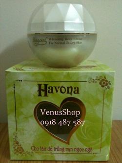 Ảnh số 4: Kem dưỡng siêu trắng The Havona : 270k - Giá: 270.000