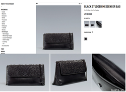 Ảnh số 5: Túi ZARA BLACK MESSENGER - Giá: 700.006