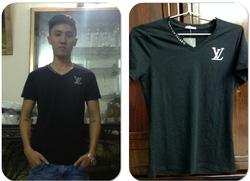 Ảnh số 6: áo phông đen VL - Giá: 130.000