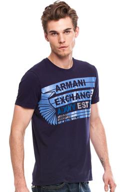 Ảnh số 18: Armani Exchange CROSS STRIPE LOGO TEE - Giá: 650.000