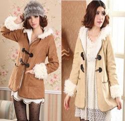 Ảnh số 2: áo khoác da lộn - Giá: 370.000