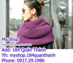 Ảnh số 15: Khăn ống các màu( có thể làm thành áo) - Giá: 150.000