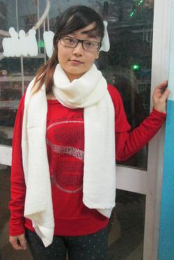Ảnh số 16: khăn len Zara dài - Giá: 140.000