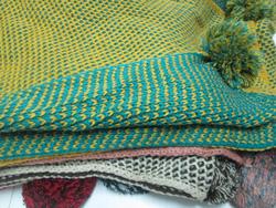 Ảnh số 20: khăn len 2 màu - Giá: 180.000
