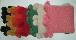 Ảnh số 23: khăn len quả 1 màu - Giá: 150.000
