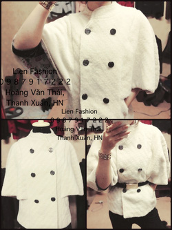 Ảnh số 15: áo choàng búp bê kiểu lạ, hàng thiết kế nên  ko đụng hàng đâu nhé - Giá: 370.000
