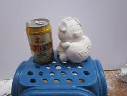 Ảnh số 71: tô tượng gấu tim - Giá: 5.000