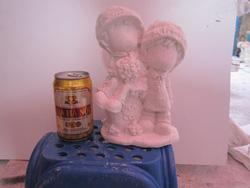Ảnh số 24: tô tượng Đôi ngồi trên đá - Giá: 10.000