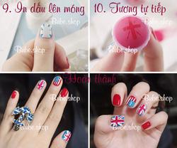 Ảnh số 19: Stamping nail art bube shop - Giá: 20.000