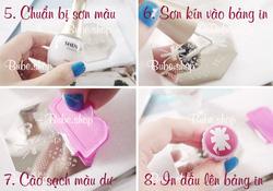 Ảnh số 18: Stamping nail art bube shop - Giá: 20.000