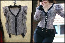 Ảnh số 34: áo da rắn fake HM hàng đẹp giá 230k - Giá: 230.000