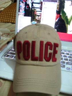 Ảnh số 37: mũ police - Giá: 180.000