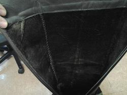 Ảnh số 100: Made in KOREA, da lộn, màu đen, size 37/38, gót 5 phân, ôm chân cực kỳ. - Giá: 1.150.000