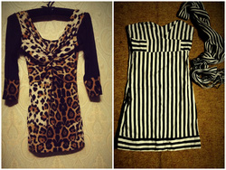 Ảnh số 24: váy body báo tay pha lưới cổ xoắn tôn vòng 1 quyến rũ giá 150k.váy body cúp ngực kèm khăn đen trắng cả sét giá 130k - Giá: 15.000