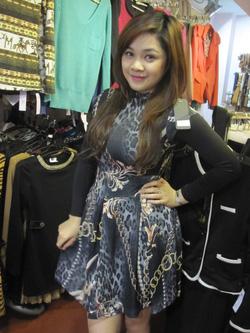 Ảnh số 21: Váy ôm len - Giá: 285.000