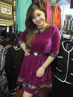 Ảnh số 31: Váy nhung - Giá: 395.000