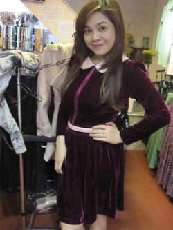 Ảnh số 50: Váy nhung xòe - Giá: 395.000