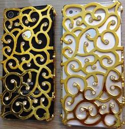 Ảnh số 2: Ốp xương hoa đính đá IPhone 5: - Giá: 150.000