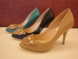 Ảnh số 11: Giày cao gót đính nơ trái tim CG11 - Giá: 560.000