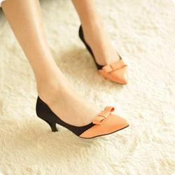 Ảnh số 39: Giày cao gót 2 màu đẹp CG39 - Giá: 280.000