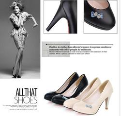 Ảnh số 45: Giày cao gót dáng xinh CG45 - Giá: 350.000
