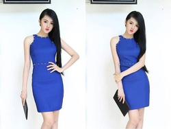 Ảnh số 74: Đầm body hotgirl nạm đinh quyến rũ DB79 - Giá: 180.000