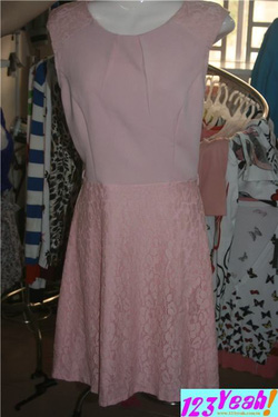 Ảnh số 87: Đầm nữ dài voan hồng sang trọng xinh xắn DB12 - Giá: 380.000