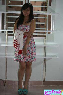 Ảnh số 89: Đầm nữ 2 dây hoa văn tròn DB8 - Giá: 220.000
