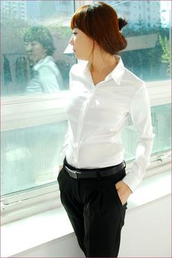 Ảnh số 9: áo sơ mi trắng công sở - Giá: 210.000