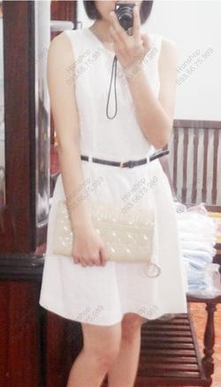 Ảnh số 27: Váy trắng thêu hoa nhí F21: 330.000 - Giá: 220.000