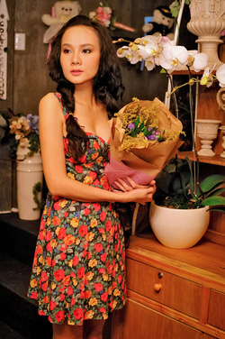 Ảnh số 75: Váy hoa xòe, cúp ngực - Giá: 190.000